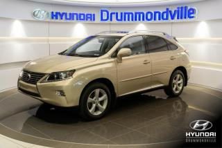 Used 2013 Lexus RX 350 AWD + GARANTIE + TOIT + MAGS + CUIR + CA for sale in Drummondville, QC