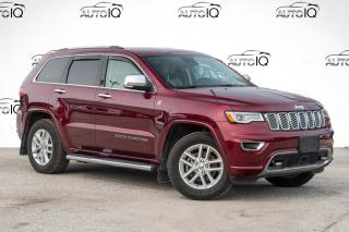 Used 2017 Jeep Grand Cherokee Overland for sale in Barrie, ON