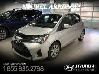 Used 2016 Toyota Yaris LE + GARANTIE + A/C +  CRUISE + BLUETOOT for sale in Drummondville, QC