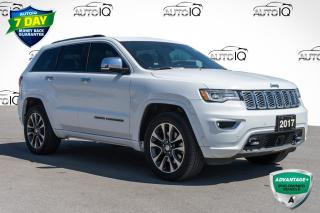 Used 2017 Jeep Grand Cherokee Overland 4X4 PANO ROOF LEATHER for sale in Innisfil, ON