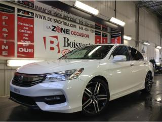 Used 2016 Honda Accord ACCORD TOURING GPS NAVIGATION CUIR SUPER EQUIPÉ ! for sale in Blainville, QC