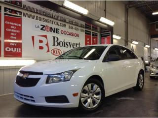 Used 2013 Chevrolet Cruze CRUZE LS AUTOMATIQUE PETIT PRIX FINANCEMENT FACILE for sale in Blainville, QC