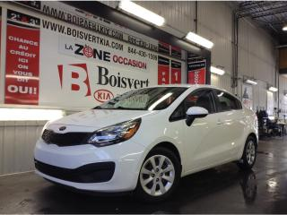 Used 2015 Kia Rio RIO LX+ AUTOMATIQUE A/C BLUETOOTH PETIT PRIX ! for sale in Blainville, QC