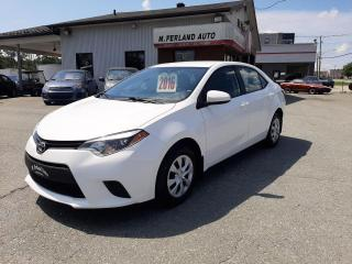 Used 2016 Toyota Corolla Berline 4 portes, boîte manuelle, CE for sale in Sherbrooke, QC