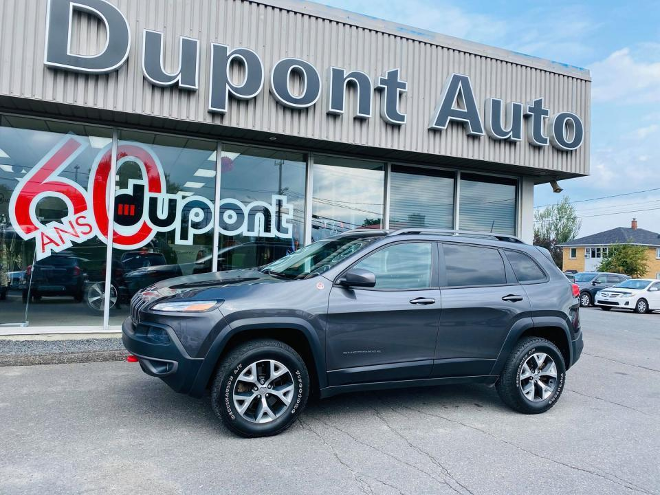 used 2016 jeep cherokee trailhawk 4 portes 4 roues motrices for sale in alma, quebec carpages.ca