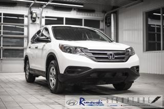 Used 2014 Honda CR-V LX AWD chez Rimouski Hyundai for sale in Rimouski, QC