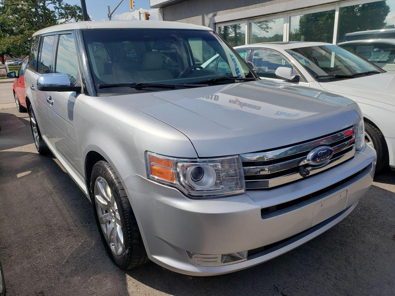 used 2010 ford flex limited pano sunroof power tailgate 7 passenger for sale in hamilton, ontario carpages.ca