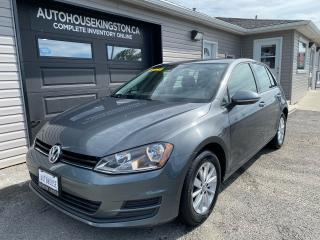 Used 2016 Volkswagen Golf COMFORTLINE for sale in Kingston, ON