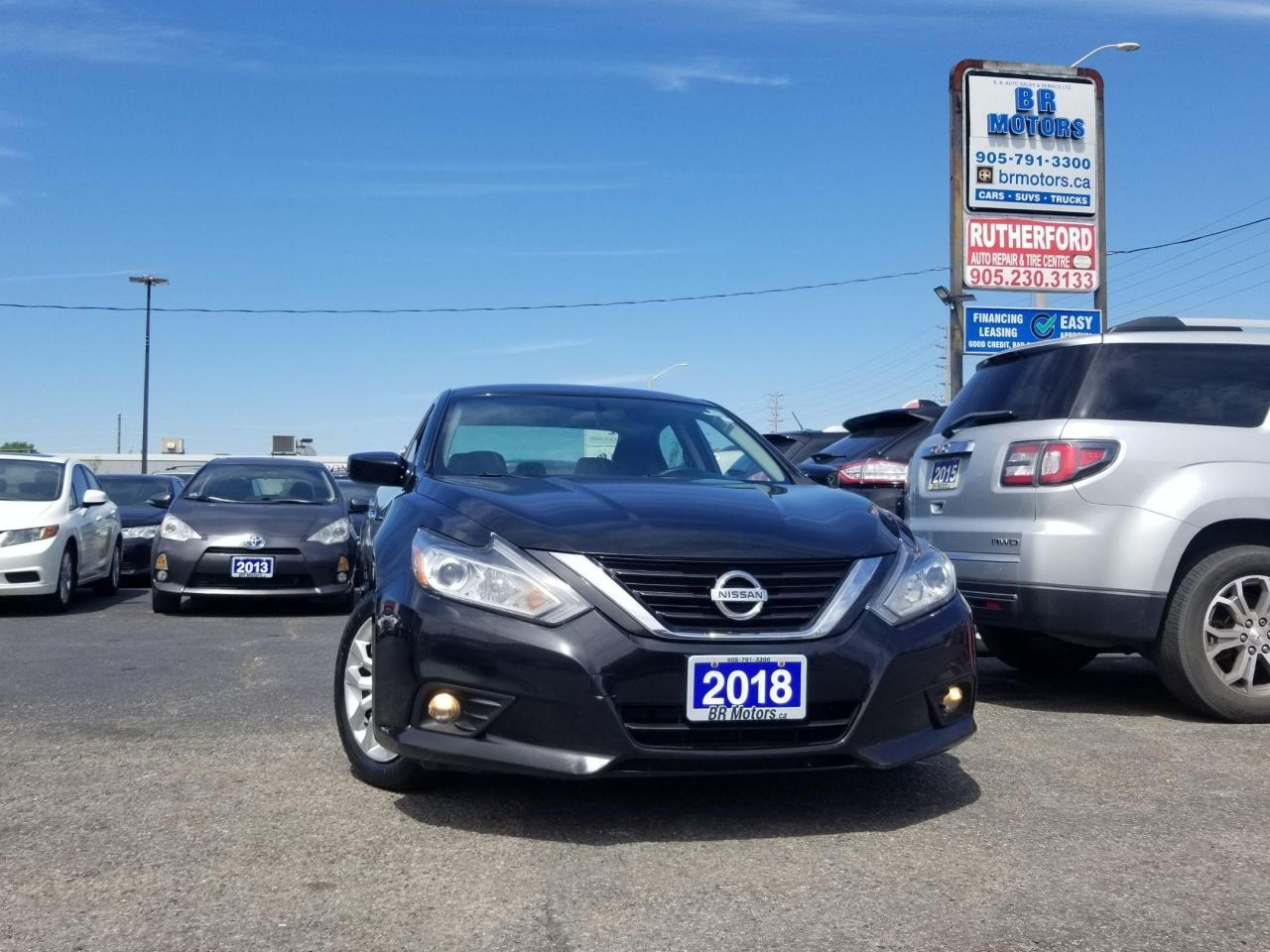 used 2018 nissan altima 2.5 s auto air camera no accidents for sale in brampton, ontario carpages.ca
