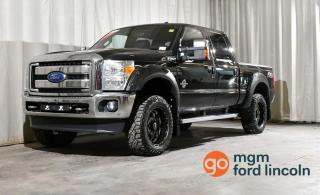Used 2014 Ford F-350 Super Duty SRW Lariat 4x4 SD Crew Cab 156.0 in. WB for sale in Red Deer, AB