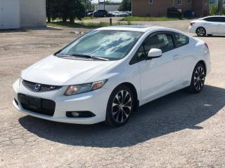 Used 2013 Honda Civic Si|Manual|Navigation|Heated seats for sale in Bolton, ON