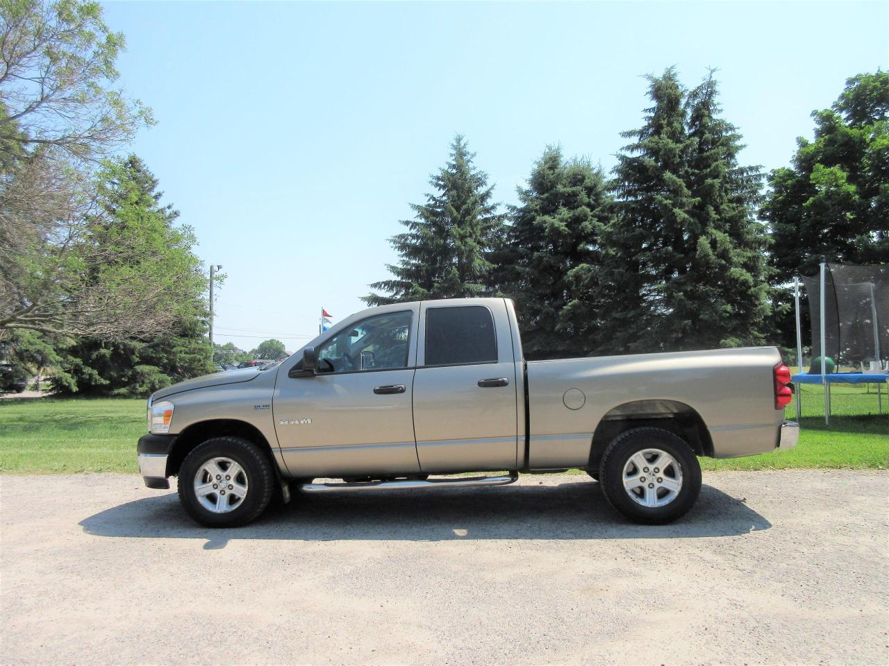 used 2008 dodge ram 1500 slt 4wd v8 for sale in thornton, ontario carpages.ca