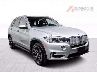 Used 2016 BMW X5 35i xDrive Cuir Toit Pano GPS Sièges Chauffants for sale in St-Hubert, QC