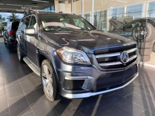 Used 2015 Mercedes-Benz GL-Class GL 63 AMG 4MATIC, ONE OWNER, SUNROOF/MOONROOF, POWER HEATED/VENTED LEATHER SEATS for sale in Edmonton, AB