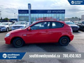Used 2009 Hyundai Accent GL SPORT PKG/MANUAL/SUNROOF/AC for sale in Edmonton, AB