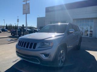 Used 2014 Jeep Grand Cherokee LTD NAV/LEATHER/PANOROOF/HEATEDSEATS/BACKUPCAM for sale in Edmonton, AB