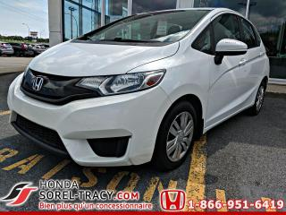 Used 2016 Honda Fit LX à hayon 5 portes CVT for sale in Sorel-Tracy, QC