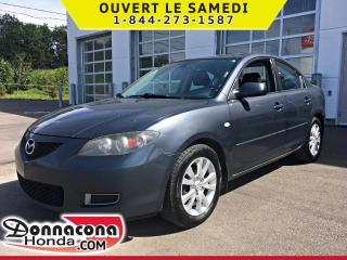 Used 2008 Mazda MAZDA3 GS *SEULEMENT 149 966 KM* for sale in Donnacona, QC