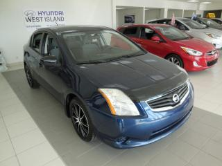 Used 2012 Nissan Sentra AUTO A/C GROUPE ÉLECTRIQUE BAS KM for sale in Dorval, QC