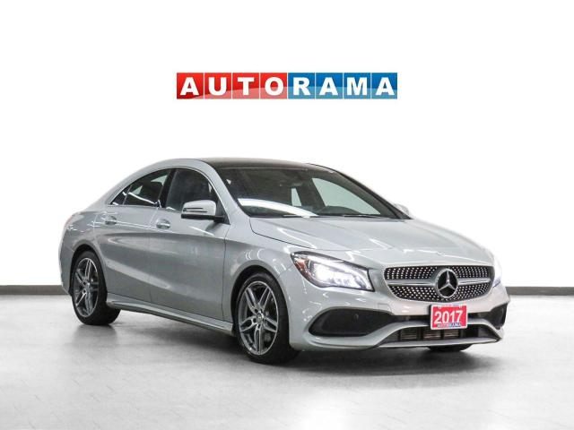 2017 Mercedes-Benz CLA 250 4Matic AMG Pkg Nav Leather PanoRoof Backup Cam