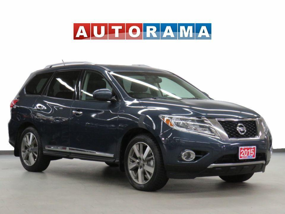 used 2015 nissan pathfinder platinum 4wd nav leather sunroof backup camera for sale in toronto, ontario carpages.ca