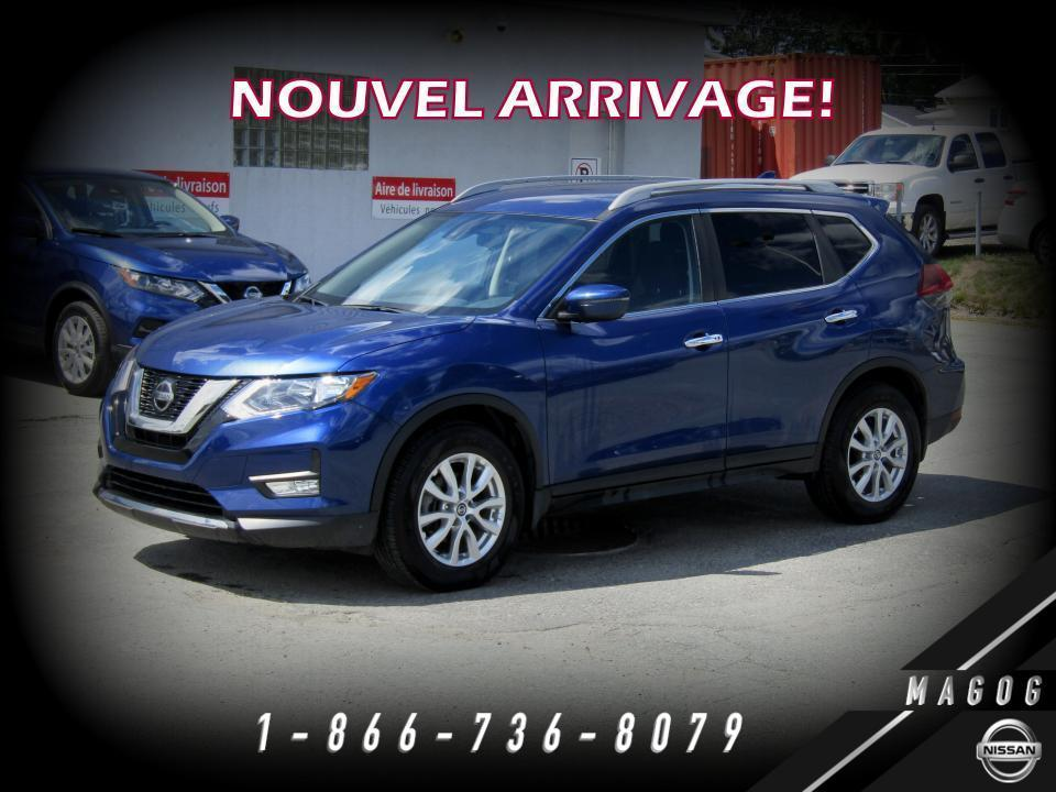 used 2019 nissan rogue sv 2rm mags bouclier nissan caméra for sale in magog, quebec carpages.ca