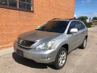 Used 2008 Lexus RX 350 LEATHER /SUNROOF/NAVIGATION for sale in Oakville, ON