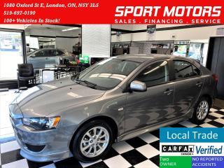 Used 2014 Mitsubishi Lancer Sportback SPORTBACK SE+New Tires & Brakes+Accident Free for sale in London, ON