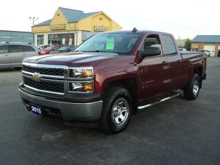 Used 2015 Chevrolet Silverado 1500 LS DoubleCab 4x4 5.3L 6.5ft Box for sale in Brantford, ON