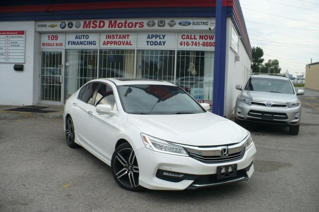 2016 Honda Accord Touring  ONE OWNER