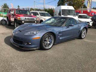 Used 2011 Chevrolet Corvette ZR1 w/1SD Supercharged for sale in Abbotsford, BC