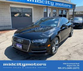 Used 2016 Audi A7 3.0T Technik S-LINE/ FULLY LOADED/ AWD/ CERTIFIED for sale in Niagara Falls, ON