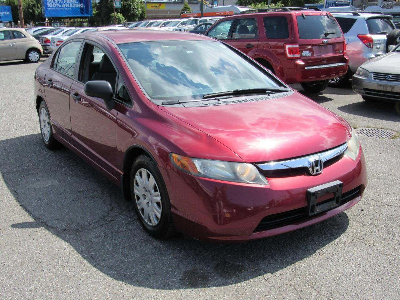 used 2007 honda civic dx-g for sale in vancouver, british columbia carpages.ca