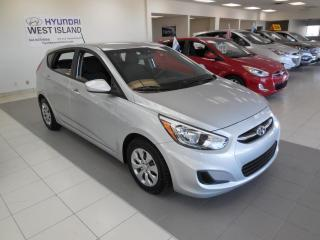 Used 2016 Hyundai Accent GL AUTO A/C BT CRUISE GROUPE ÉLECTRIQUE for sale in Dorval, QC