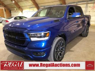 Used 2019 RAM 1500 Sport 4D Crew CAB 4WD for sale in Calgary, AB