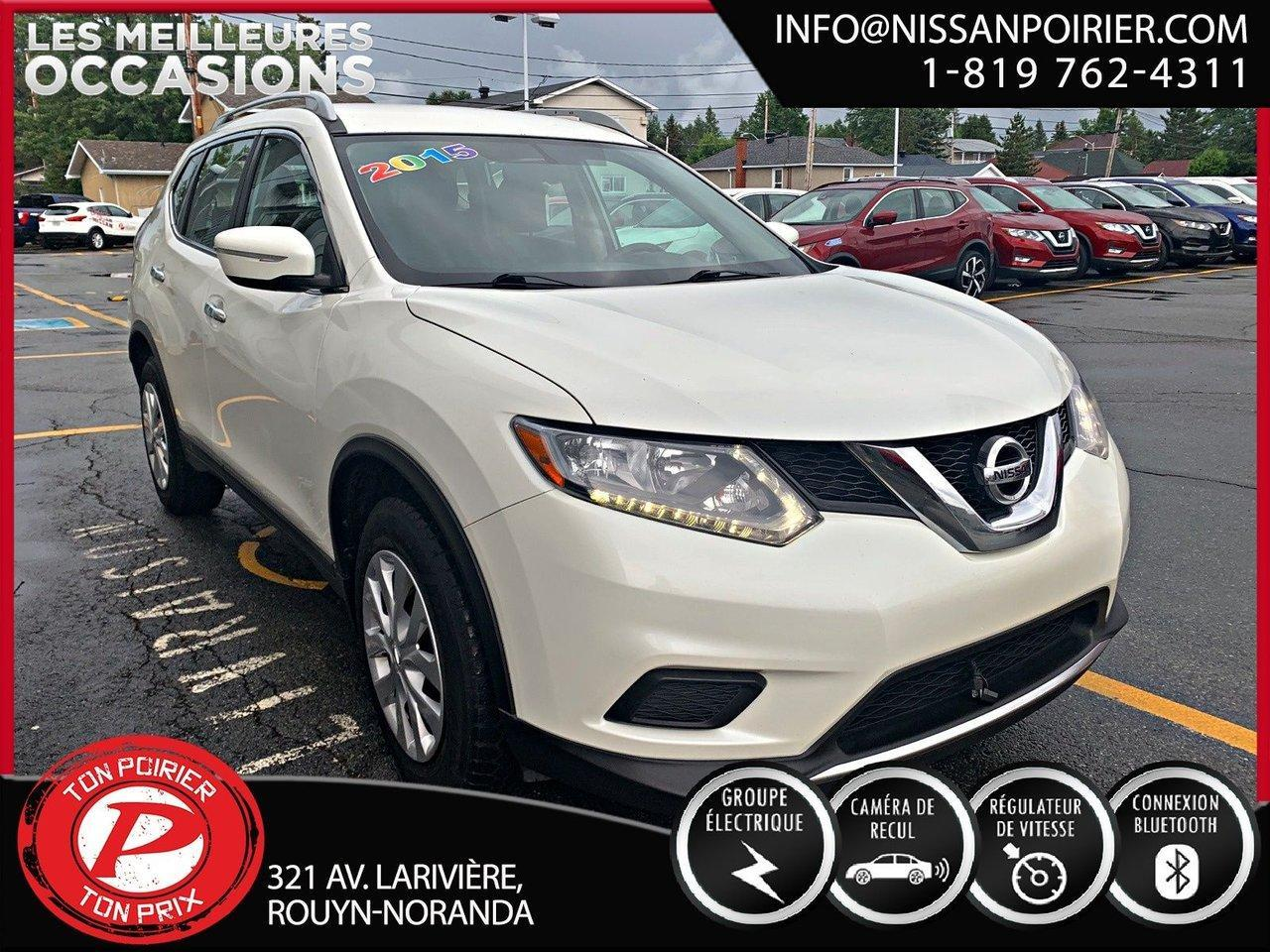 used 2015 nissan rogue s for sale in rouyn-noranda, quebec carpages.ca