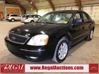 Used 2006 Ford FIVE HUNDRED  4D SEDAN AWD for sale in Calgary, AB