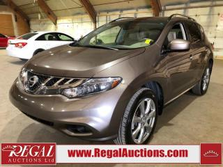 Used 2013 Nissan MURANO PLATINUM 4D UTILITY AWD for sale in Calgary, AB