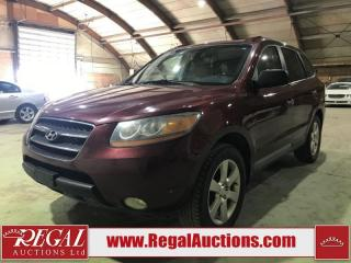 Used 2008 Hyundai Santa Fe Limited 4D Utility AWD for sale in Calgary, AB