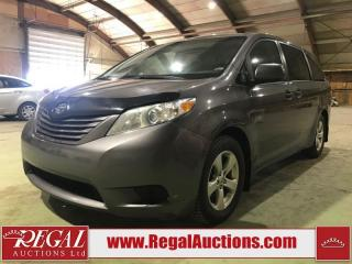 Used 2013 Toyota SIENNA BASE 4D WAGON 7 PASS for sale in Calgary, AB