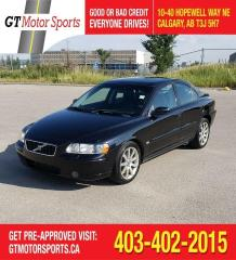Used 2006 Volvo S60 2.5L Turbo Auto AWD Spec Ed for sale in Calgary, AB
