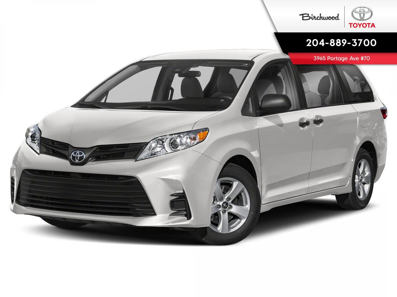 used 2020 toyota sienna ce 7pass v6 for sale in winnipeg, manitoba carpages.ca