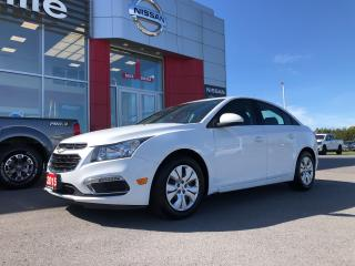 Used 2015 Chevrolet Cruze 1LT LOCAL TRADE LOW KMS for sale in Belleville, ON