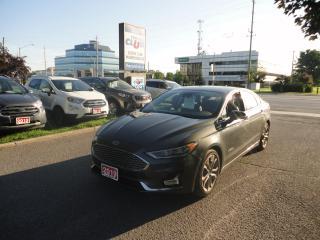 Used 2019 Ford Fusion Hybrid Titanium Hybrid w/ Heated Leather & Sunroof for sale in Ottawa, ON