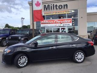 Used 2018 Nissan Sentra 1.8 SV Midnight Edition for sale in Milton, ON