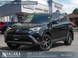 Used 2018 Toyota RAV4 Hybrid SE for sale in Niagara Falls, ON