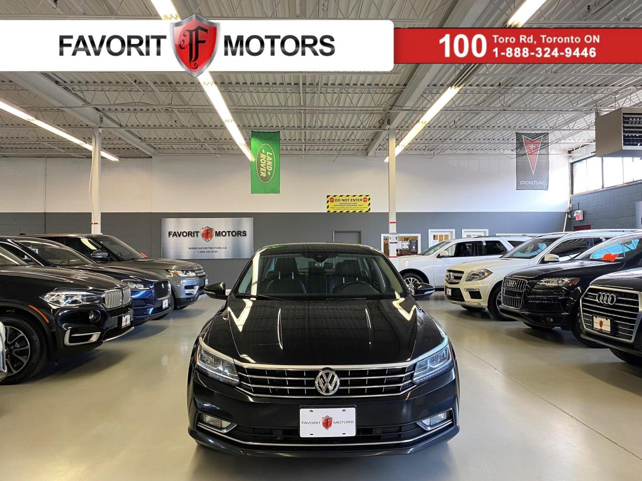 used 2017 volkswagen passat tsi comfortline certified nav sunroof leather for sale in north york, ontario carpages.ca