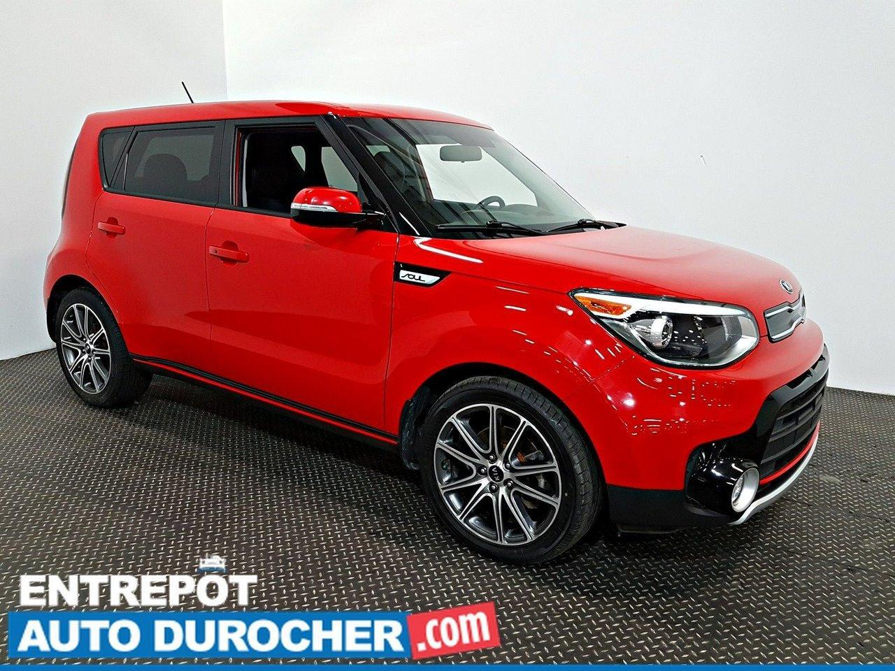 used 2017 kia soul turbo air climatisé - caméra de recul - semi cuir for sale in laval, quebec carpages.ca