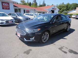 Used 2019 Ford Fusion Hybrid Titanium w/ Heated and Cooled Leather & Sunroof for sale in Ottawa, ON