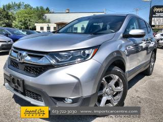 Used 2017 Honda CR-V EX 18 ALLOYS  ROOF  HTD SEATS  BACKUP CAM for sale in Ottawa, ON